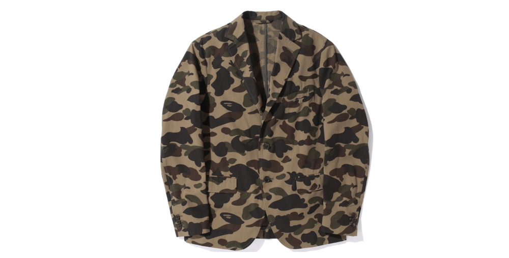 A Bathing Ape Camo Jacket